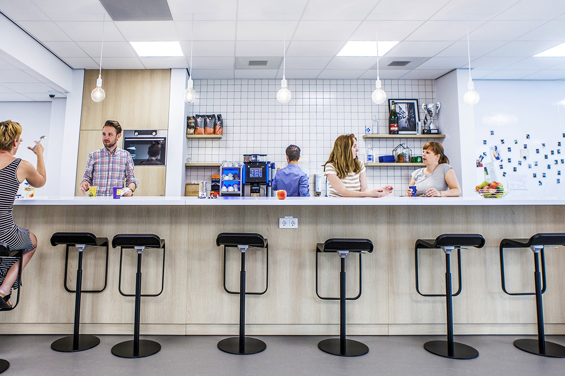 Inspiring work environment at ZEISS Benelux | Hospitality Group